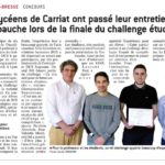 [2016-2017] Challenge DCS IT Games au lycée Carriat